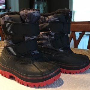 Target baby boy snow boots
